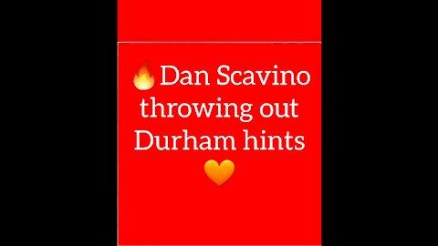 ❗Dan Scavino Throws out Durham hints🔥
