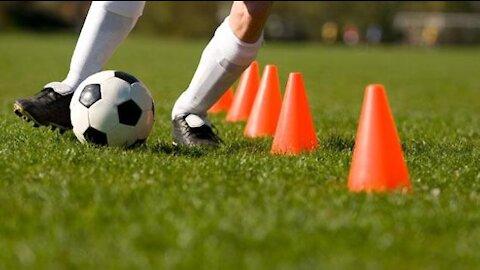 Soccer Drills Passing Receiving