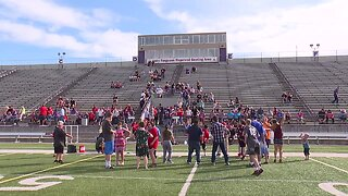 Athletes compete in Special Olympics Idaho in Caldwell