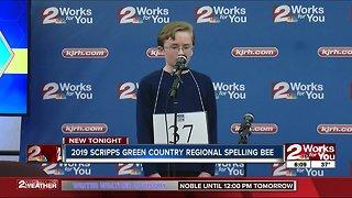 Will McCollom wins 2019 Green Country Regional Spelling Bee