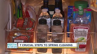 7 crucial steps to spring cleaning