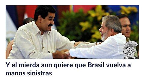 Y el mierda aun quiere que Brasil vuelva a manos sinistras