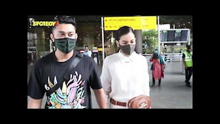 Lovebirds Gauahar Khan And Zaid Darbar Dash Off To Dubai For A Mini Holiday | SpotboyE