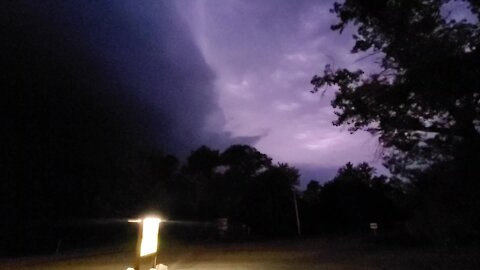 Crazy summer lightning storm is a wonder to behold