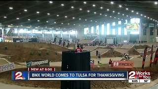 BMX world comes to Tulsa for Thanksgiving