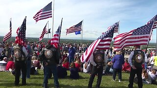 Memorial Day ceremony at the Idaho State Veterans Cemetery