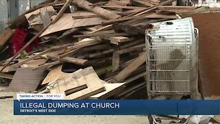 Illegal dumping on Detroit's west sude