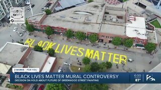 Black Lives Matter mural controversy