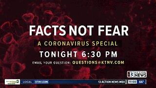 Coronavirus special on Friday night