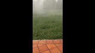 Insane hail storm caught on camera in Sydney
