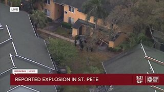 Police investigate apartment explosion in St. Petersburg