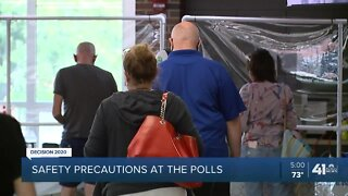 Safety precautions at the polls