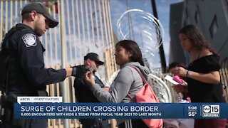 Still no resolution, as the number of unaccompanied minors rise at the border