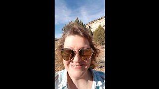 Easter Resurrection Sunday Johnson Ranch Road Grand Staircase -Escalante