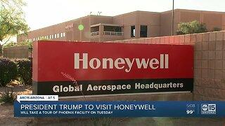 President Trump to visit Honeywell in Phoenix