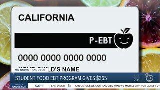 Student food EBT program gives $365