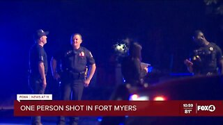 Police investigate shooting in Fort Myers that sent one person to the hospital