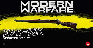 Modern Warfare: Kar98k Setup And Best Attachments For your Class In COD: Modern Warfare 2019