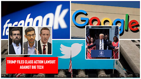 The Friday Vlog | Trump Files Class Action Lawsuit Against Big Tech