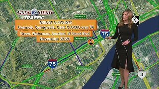 We're looking at the construction projects on the roads this weekend.