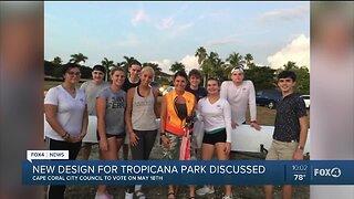 Cape city council votes on Tropicana park redesign