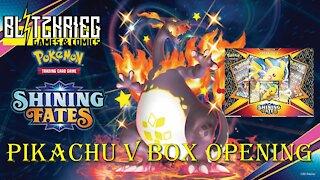 Pokemon Shining Fates Pikachu V Box Opening