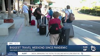 Biggest travel weekend since Pandemic
