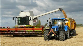 Agriculture Harvesting Machine - Latest Technology Farming Technology