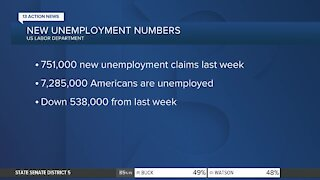 More than 750K Americans filed for unemployment last week