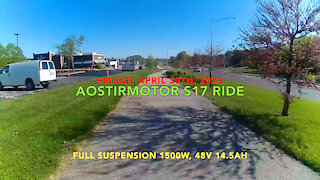 Aostirmotor S17 Friday Evening Ride
