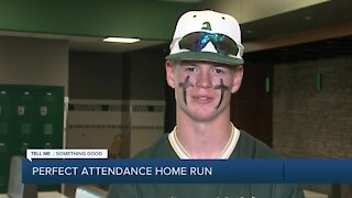 Adair teen finishes high school with perfect attendance record