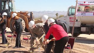 ground breaking ceremony for new food bank in Sahuarita, Ariz.