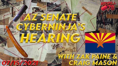 GUILTY! AZ Senate Debunks The Left's BIG LIE! AZ Senate Hearing On Forensic Audit