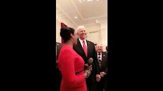 Democrats Sing Happy Birthday to Biden.