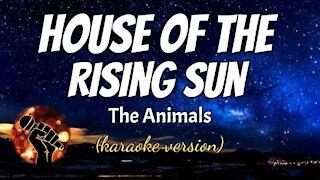 HOUSE OF THE RISING SUN - THE ANIMALS (karaoke version)