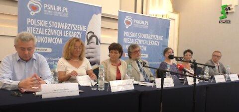 Pierwsza Konferencja Polskiego Stowarzyszenia Niezależnych Lekarzy i Naukowców, cz.1 W-wa,10.06.2021