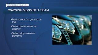 Better Business Bureau warns of online car scam