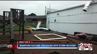 Mannford daycare struggling with storm recovery