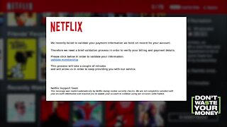 Netflix Email: Real or Scam?