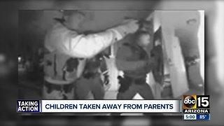Children taken from parents