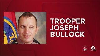 Trooper Joseph Bullock killed on I-95 in Martin County, FHP says