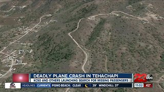 Deadly plane crash in Tehachapi