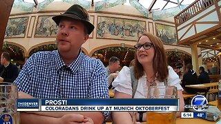 Prost! Coloradans drink up at Munich Oktoberfest
