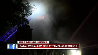 Fatal fire at Tampa apartment complex