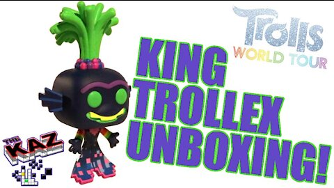 King Trollex Trolls World Tour Funko Pop Unboxing