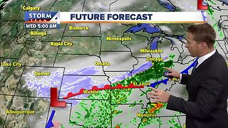 Increasing clouds make for cool Tuesday evening