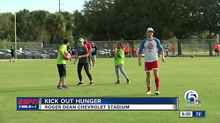 Kick out hunger at Roger Dean Chevrolet Stadium
