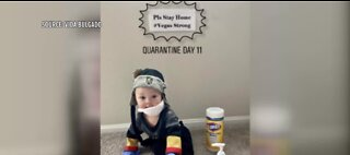 Baby quarantine photo goes viral