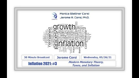 Corstet: Inflation 2021 #3 - Modern Monetary Theory, Taxes, And Inflation