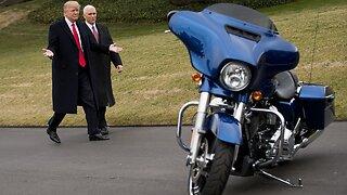 President Trump Defends Harley-Davidson, Slams EU Tariffs